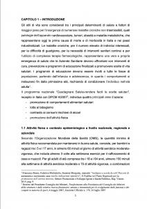 Tesi universitaria sul PEDIBUS - Introduzione